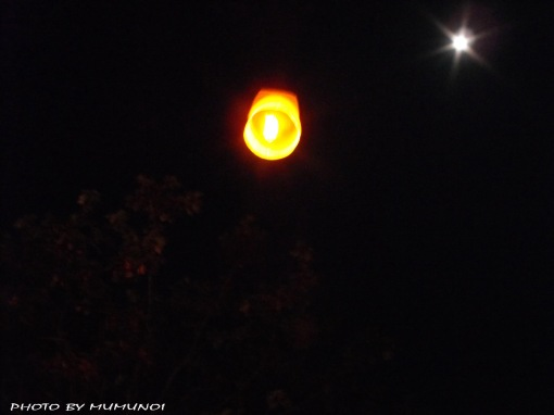 Floating Lantern in the sky